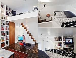 Kleine Wohnung Einrichten Mit Hochhbett Wei1 Raum