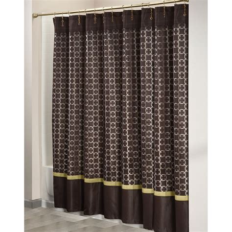 Chain Link Curtains by Jaclyn Smith Today Chain Link Shower Curtain