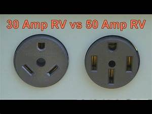 30 Vs 50 Amp Rv Service