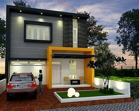 desain rumah minimalis type 45 1 lantai terbaru modern