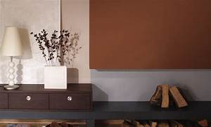 Schöner Wohnen Arbeitszimmer : wandgestaltung in braun sch ner wohnen farbe noisette planungswelten ~ Sanjose-hotels-ca.com Haus und Dekorationen