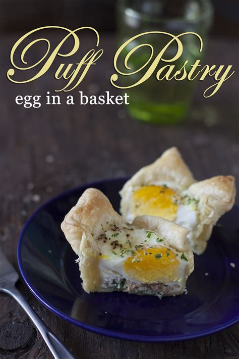 Puff Pastry Egg In A Basket Recipe Eating Richly