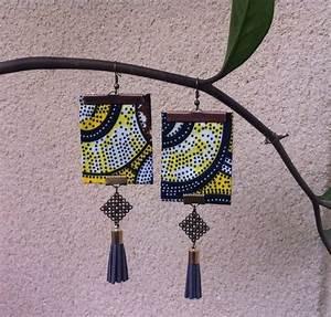 25 best ideas about boucles d39oreilles en tissu on With robe fourreau combiné avec bracelet tissu liberty