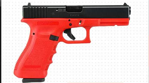 colored pistols focus on gun color is farcical