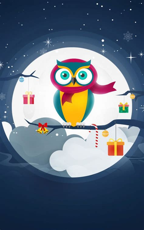 christmas owl winter gifts  pure  ultra hd