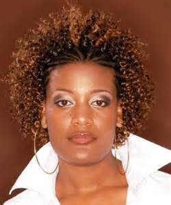 Natural Hairstyles Flat Twist with Curls