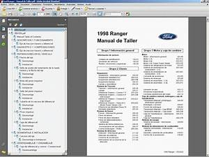 Ford Ranger Manual De Taller