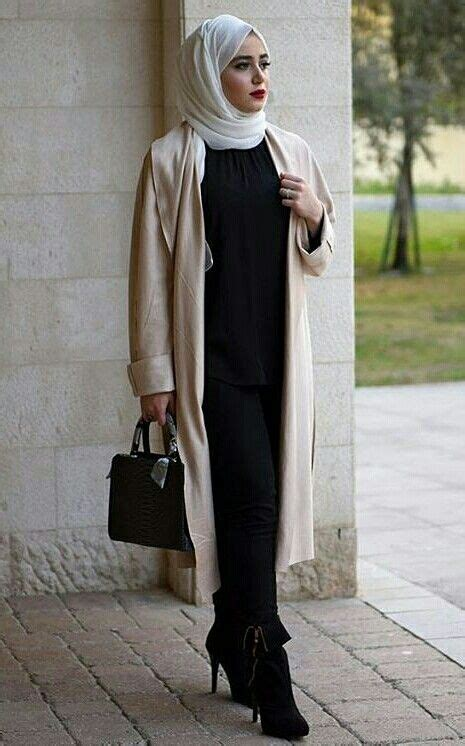hijab street style hijab work wear outfit ideas