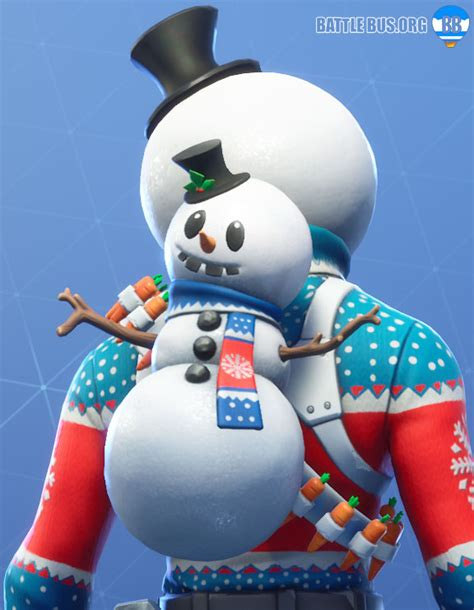 christmas skins arrive  fortnite slushy soldier icicle