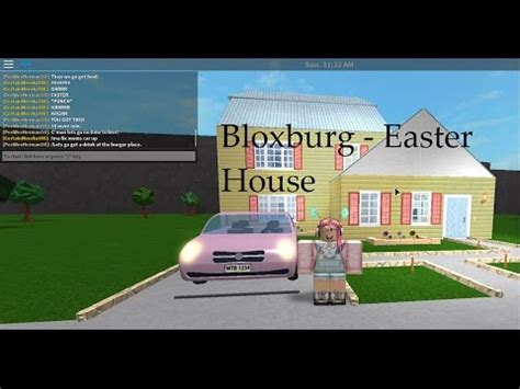 Bloxburg  Easter House Tour! D  Youtube