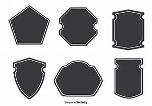 Assorted Badge Shapes - Download Free Vector Art, Stock ...