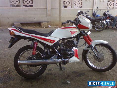 hand yamaha rxz  bangalore good condition stock condition white colour price  rs