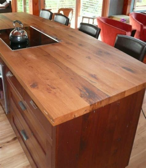 cuisine comptoir bois 68 idées pour un comptoir de cuisine en bois design