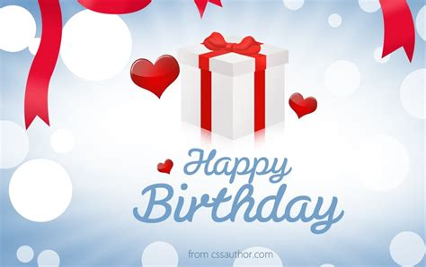 Birthday Card Image by Beautiful Birthday Greetings Card Psd For Free