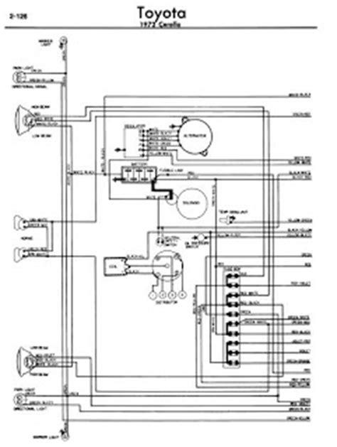 toyota corolla 1972 wiring diagrams manual