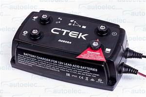Ctek D250sa Dual Dc To Dc Solar Battery Charger 12v 12