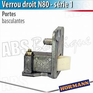 verrou porte basculante debordante hormann serie 1 droit With porte de garage hormann piece detachee
