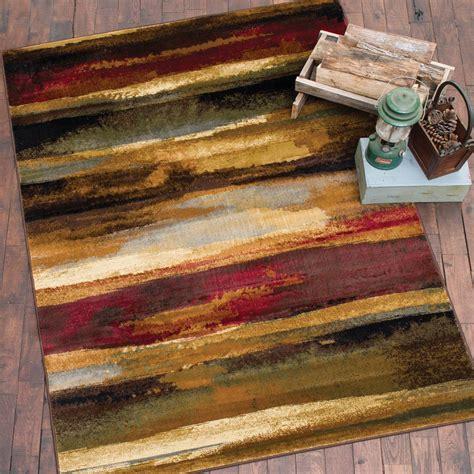 Rustic Landscape Rug   5 x 7