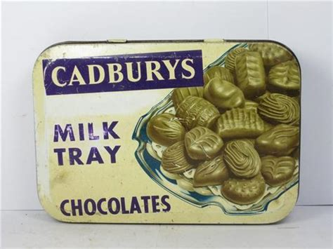 shop stuff  tin cadburys milk tray chocolates