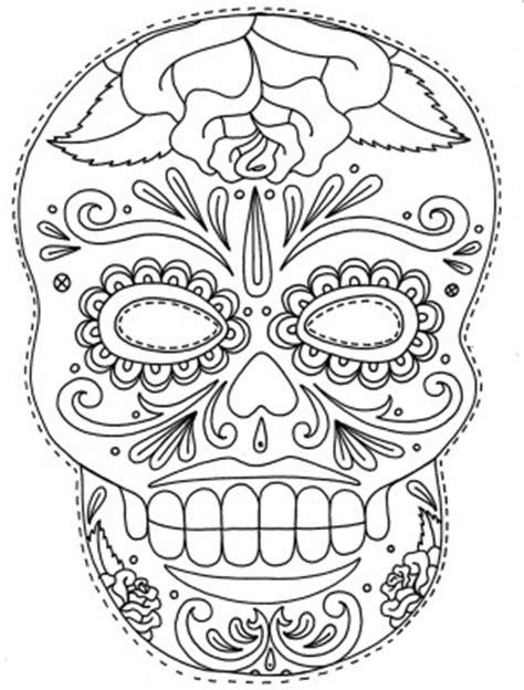 dibujos de calaveras mexicanas  imprimir  pintar