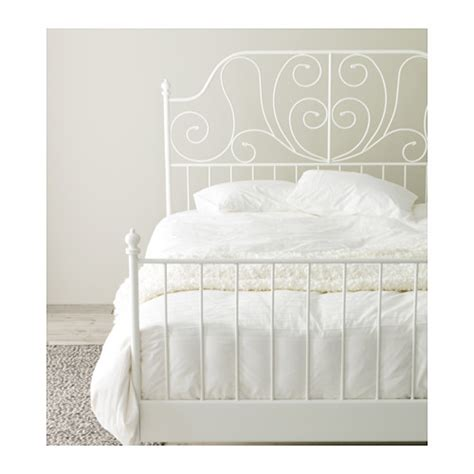 Leirvik Bed Frame by Leirvik Bed Frame White Lur 246 Y Standard Ikea