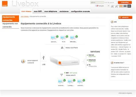 changer de livebox modifier le mot de passe d administration de la livebox