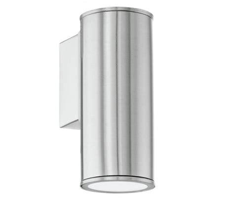 eglo 94102 riga anthracite single l modern wall light eurolight