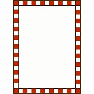 RED AND WHITE CHECK | FRAMES / BORDERS / CORNERS ...