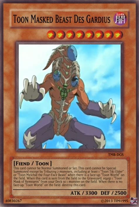 building a masked beast des masked beast des gardius yugioh card by tim1995 on