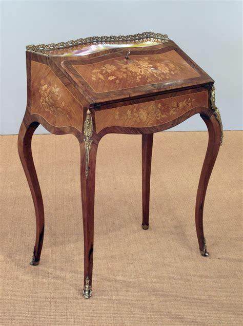 antique bureau de dame kingwood bureau de dame antique writing table louis xv bureau