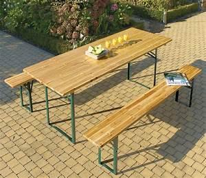 Table Jardin En Bois : table en bois de jardin table jardin 4 personnes maisonjoffrois ~ Dode.kayakingforconservation.com Idées de Décoration