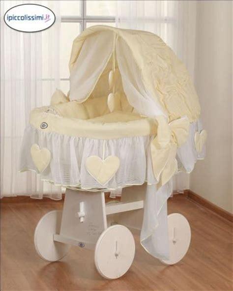 Culle In Vimini Rivestite by I Piccolissimi Articoli Naturali Per Bambini Ed Adulti
