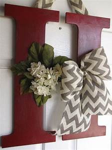 Decorative Letter Decor by MadeWithLoveForUbyMe on Etsy ...