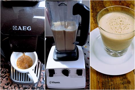 Whiskey wednesday at little dipper. Vitamix recipe: ice coffee with banana and vanilla