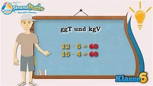 Ggt Und Kgv Berechnen : ggt und kgv gr ter gemeinsamer teiler klasse 6 wissen youtube ~ Themetempest.com Abrechnung