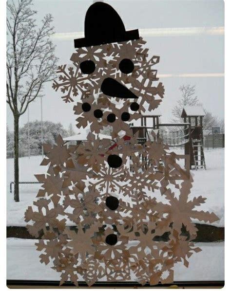Fensterdekoration Weihnachten Schule by Winter Winter Weihnachten Schnee Und Schneemann
