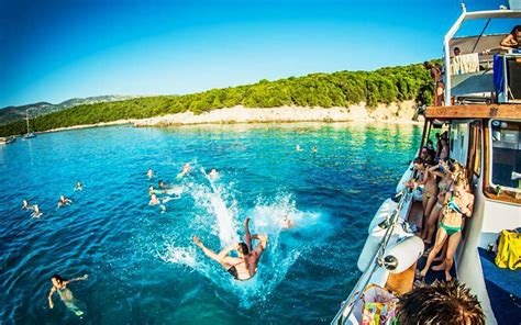 Party Boat Greece by Island Beach Resort Accommodation Booking Event