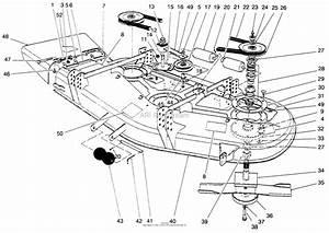 Toro Professional 30652  52 U0026quot  Side Discharge Mower  1998