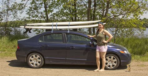 stand up paddle board car rack paddleboard rental toronto sup rentals in toronto