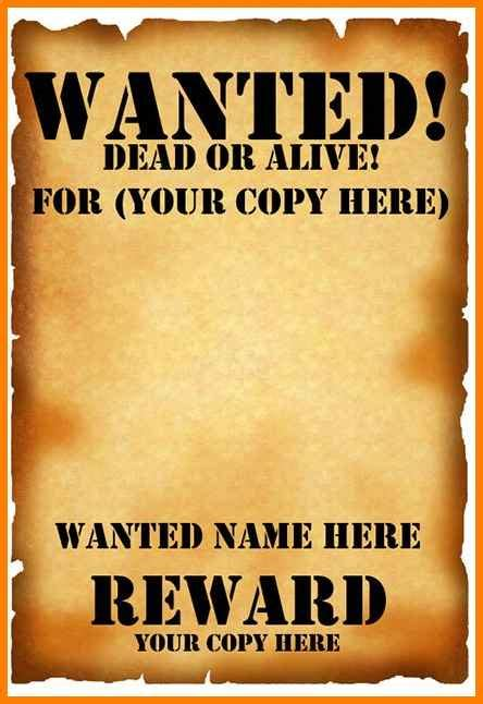 editable wanted posters dragon fire defense