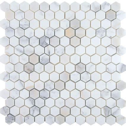 honeycomb floor tile calacatta mosaic tile showcase