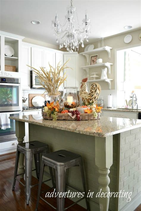 decorative kitchen islands kitchen fall decor ideas that are simply beautiful