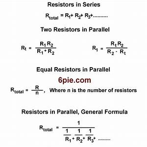 Adding Resistance in an Electronic Circuit