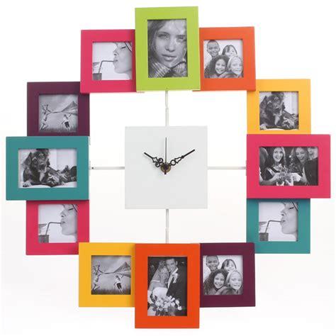 horloge avec cadre photo 28 images horloge murale tout aluminium avec 12 cadres 224 photo