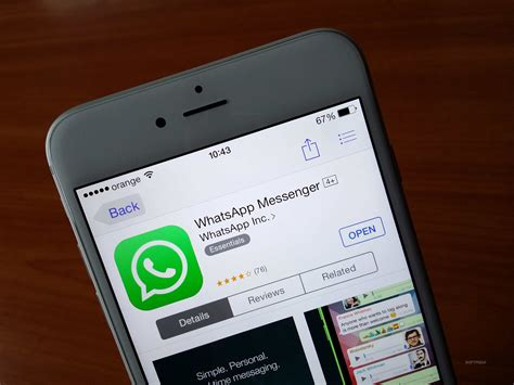 whatsapp for iphone whatsapp is barely usable on iphone 6 plus gallery