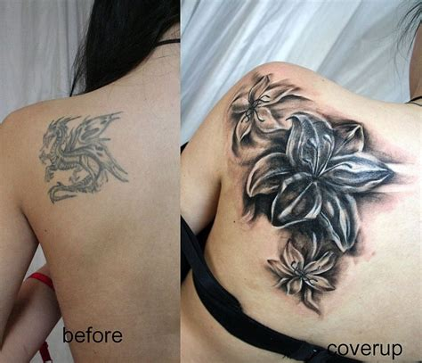 cover   flowers tat  face tattoo  deviantart