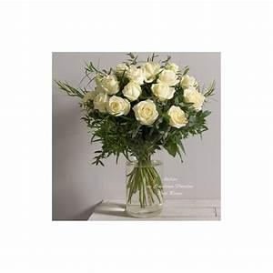 Bouquet Fleurs Blanches : bouquet de roses blanches alchimie ~ Premium-room.com Idées de Décoration