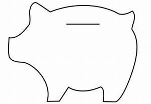 Felt piggy banks tutorial for Piggy bank templates