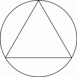 circle with triangle inside | Circle symbol, Symbols ...