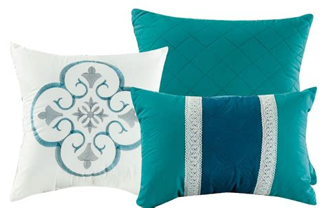 Navy and Teal Comforter Set King